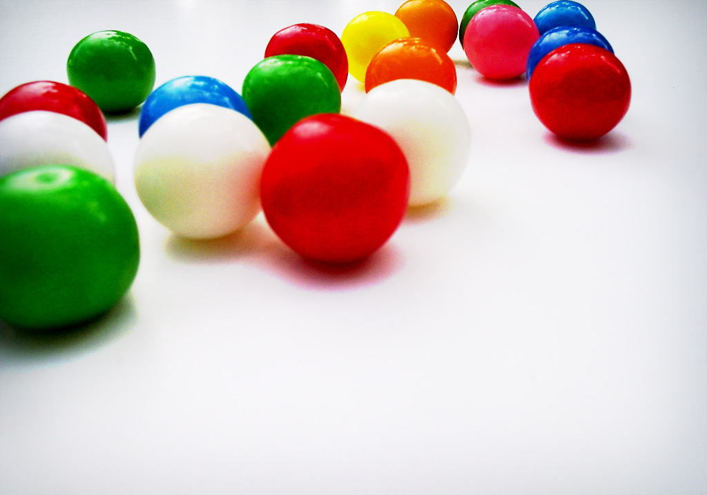 does chewing gum stay in your body