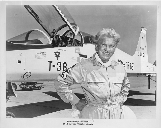 Jacqueline Cochrane, Smithsonian Photo Set
