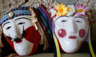 Greek Carnival Masks