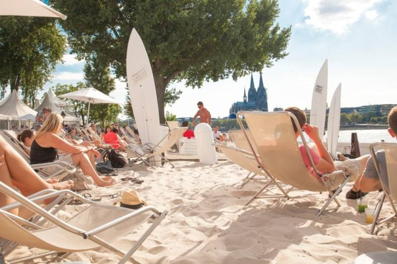 cologne beach