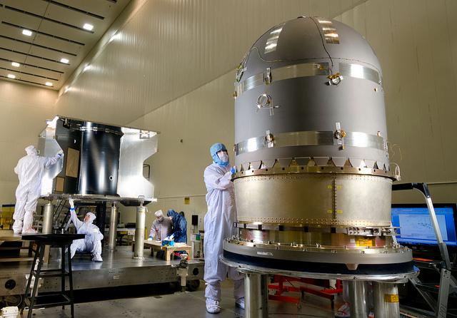 MAVEN Propulsion Tank Installation - NASA