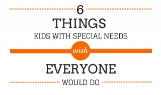 6 Things Kids With SN Wish Everyone Would Do