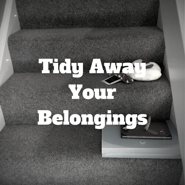 Tidy Your Belongings