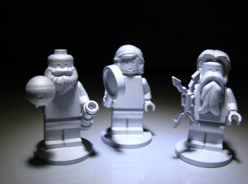 From left to right: Galileo, Juno and Jupiter. (Image: NASA/JPL-Caltech/LEGO).