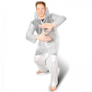 bubblewrap onesie