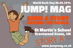 Send a Story Around the World - St Martins School